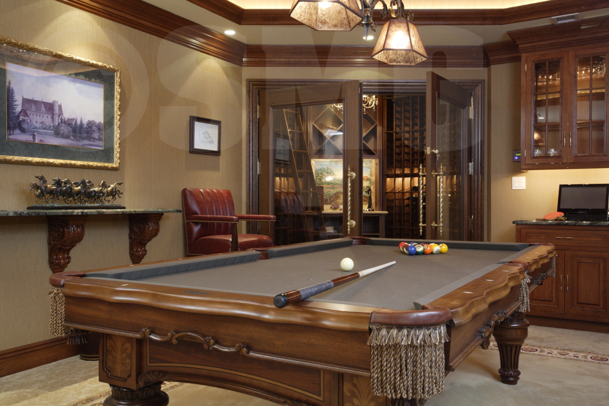 Man Cave Design Interior Decorator New Jersey