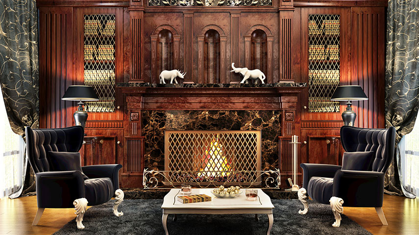 Eight Elements To Create A Gothic Interior Interior Decorator New Jersey